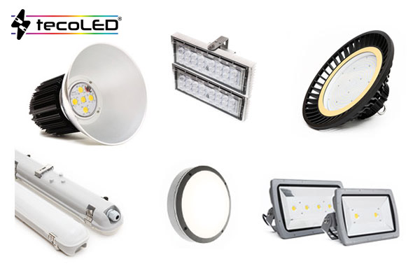 Oświetlenie przemysłowe LED - Tecoled