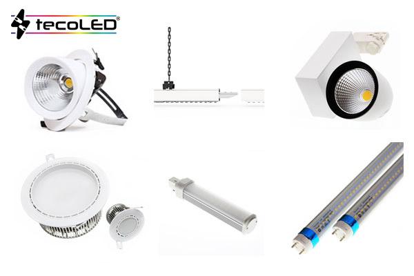Oświetlenie komercyjne LED - Tecoled