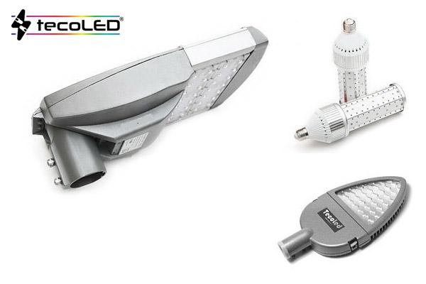 Energooszczędne oświetlenie uliczne LED - Tecoled