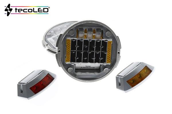 Aktywne znaczniki drogoweLED, kocie oczka LED - Tecoled
