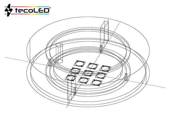 Oświetlenie specjalne LED, na zamówienie - Tecoled