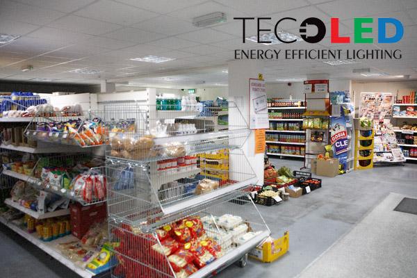 Oświetlenie komercyjne LED - świetlówki LED oraz panele LED