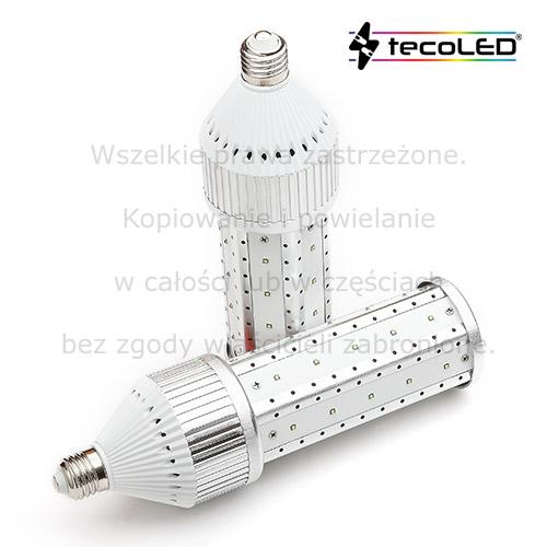 Żarówki LED E40 i E27 do oświetlenia ulicznego.