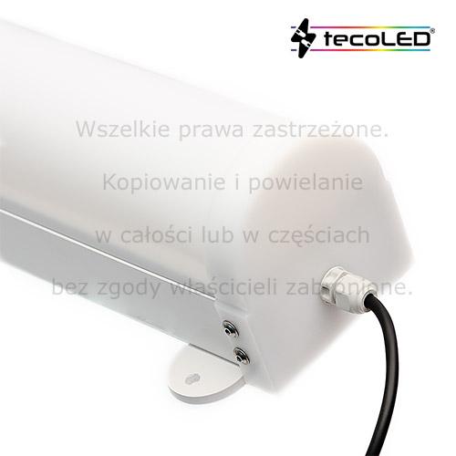 Oprawa przemysłowa LED IP65 odporna na korozję.