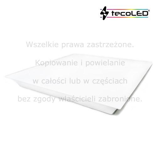 Sufitowe panel LED do oświetlenia miejsc wilgotnych.