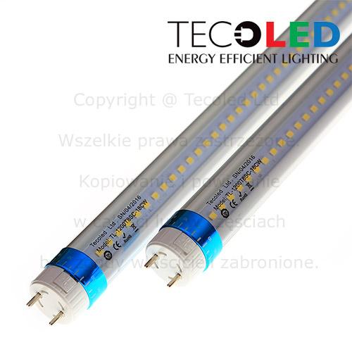 Świetlówki LED T8 G13 do instalacji komercyjnych i przemysłowych.