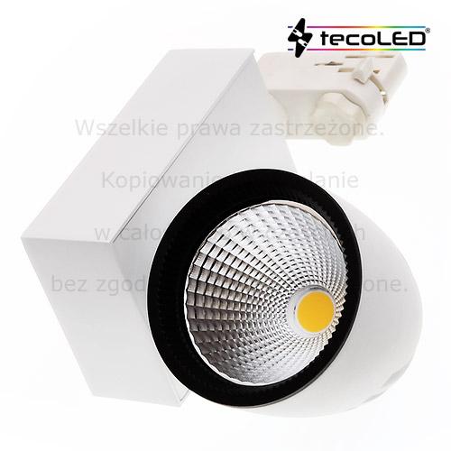 Oświetlacze sufitowe LED, lampy LED na szynoprzewody.